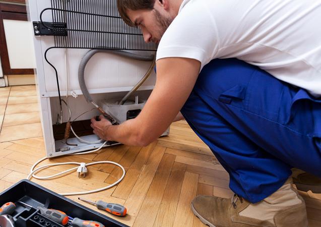 Electronics koelkast reparatie
